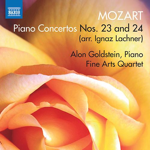 MOZART, W.A.: Piano Concertos Nos. 23 and 24 (arr. I. Lachner for piano, string quartet and double bass)