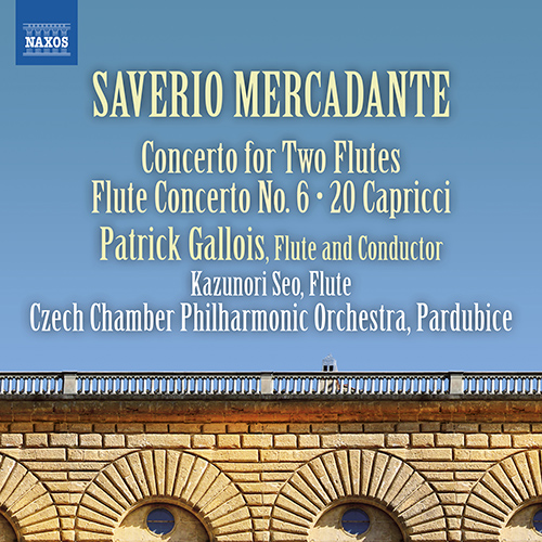 MERCADANTE, S.: Flute Concertos, Vol. 2 - Nos. 5 and 6 / 20 Capricci