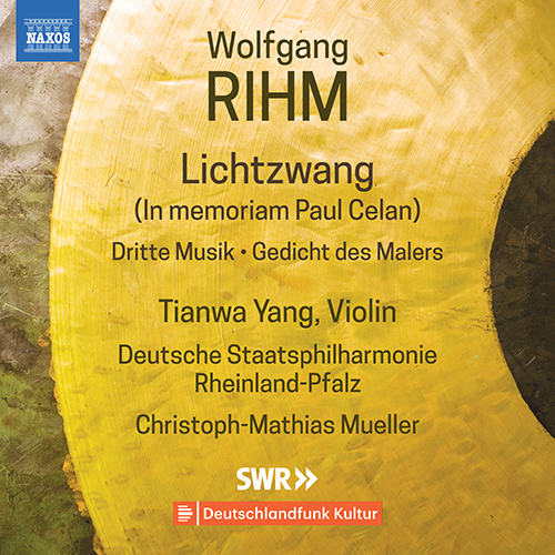 RIHM, W.: Violin and Orchestra Music, Vol. 1