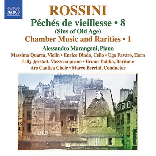 ROSSINI, G.: Piano Music, Vol. 8 - Péchés de vieillesse: Chamber Music and Rarities, Vol. 1