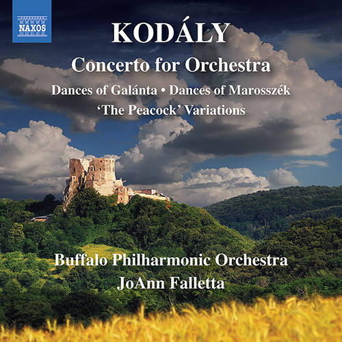 KODÁLY, Z.: Concerto for Orchestra / Dances of Galánta / Dances of Marosszék / The Peacock Variations