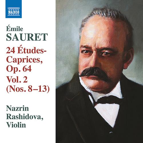 SAURET, É.: 24 Études Caprices, Vol. 2 - Nos. 8-13