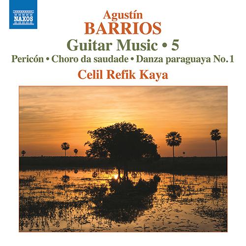 BARRIOS MANGORÉ, A.: Guitar Music, Vol. 5