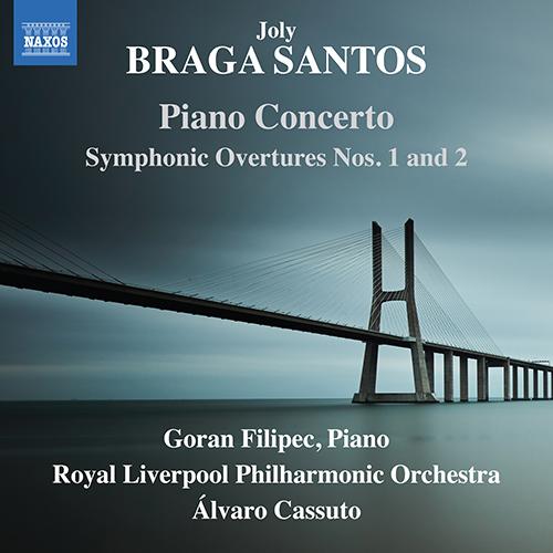 BRAGA SANTOS, J.: Piano Concerto / Symphonic Overtures Nos. 1 and 2