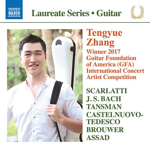 Guitar Recital: Zhang, Tengyue - SCARLATTI, D. / BACH, J.S. / TANSMAN, A. / CASTELNUOVO-TEDESCO, M. / BROUWER, L. / ASSAD, S.