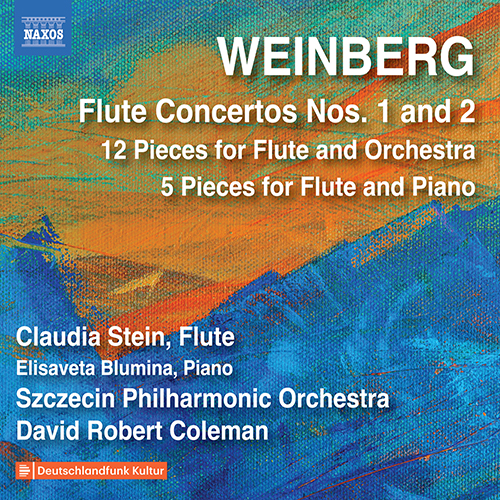 WEINBERG, M.: Flute Concertos Nos. 1 and 2 / 12 Miniatures / 5 Pieces for Flute and Piano