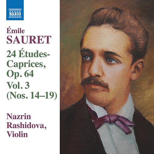 SAURET, É.: 24 Études Caprices, Vol. 3 - Nos. 14-19