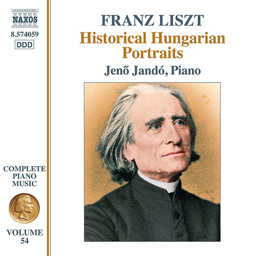 LISZT, F.: Later Piano Music (Historical Hungarian Portraits) (Liszt Complete Piano Music, Vol. 54)