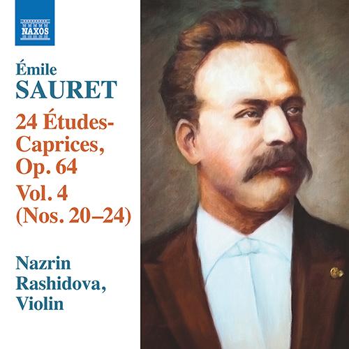 SAURET, É.: 24 Études Caprices, Vol. 4 - Nos. 20-24