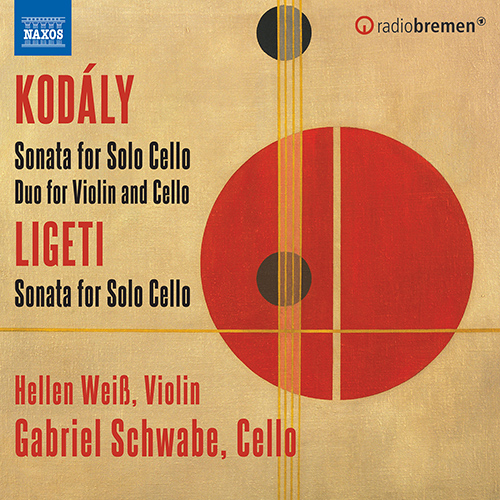 KODÁLY, Z.: Sonata for Solo Cello / Duo for Violin and Cello / LIGETI, G.: Sonata for Solo Cello