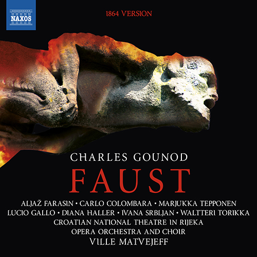 GOUNOD, C.: Faust (1864 version) [Opera] (Sung in French)