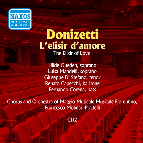 DONIZETTI: Elisir d'amore (L') (di Stefano, Gueden) (1956)