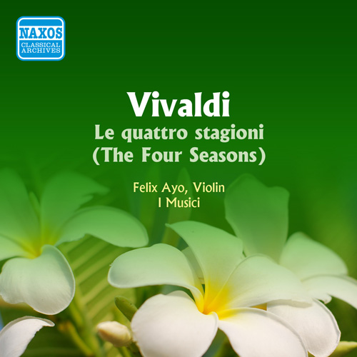 VIVALDI: 4 Seasons (The) (Ayo / I Musici) (1956)