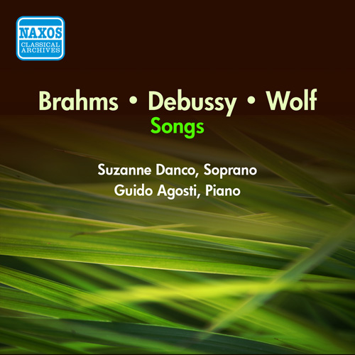 Vocal Recital: Danco, Suzanne - BRAHMS, J. / WOLF, H. / DEBUSSY, C. (1950)