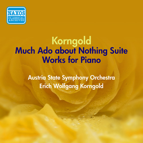 KORNGOLD, E.W.: Much Ado about Nothing Suite / Improvisations (Korngold) (1951)