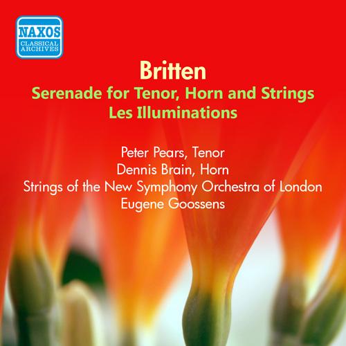 BRITTEN: Serenade / Les illuminations (Pears) (1953)