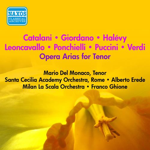 Vocal Recital: Del Monaco, Mario - LEONCAVALLO, R. / VERDI, G. / PUCCINI, G. / HALEVY, J.E. (1953-1954)