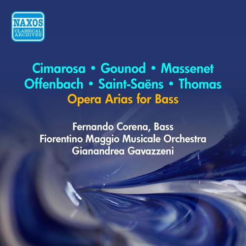 Vocal Recital: Corena, Fernando - ROSSINI, G. / CIMAROSA, D. / THOMAS, A. / SAINT-SAENS, C. (1956)