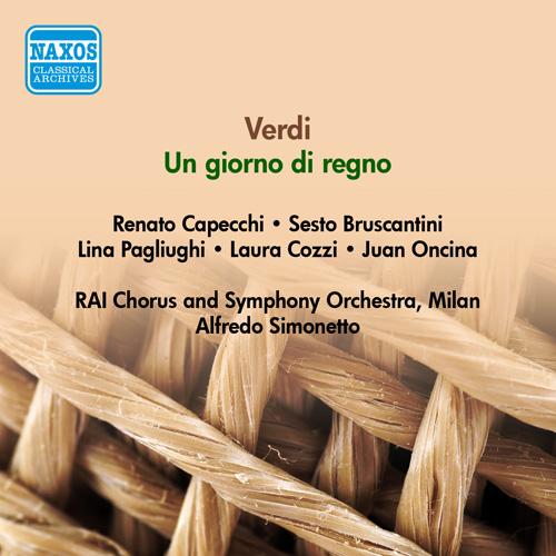 VERDI, G.: Giorno di regno (Un) (Capecchi, Pagliughi, Simonetto) (1951)
