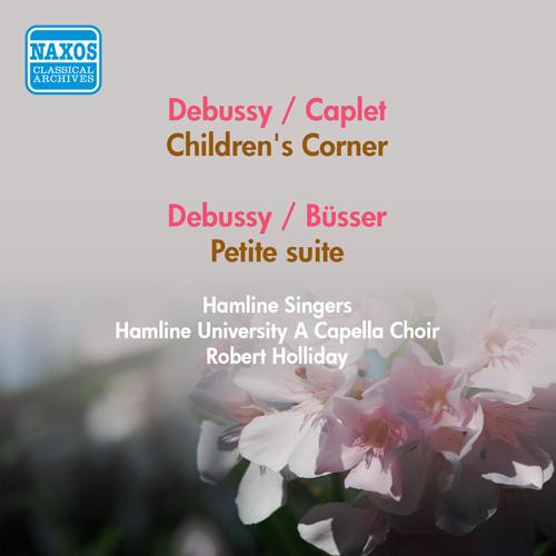 DEBUSSY, C.: Children's Corner (arr. A. Caplet) / Petite Suite (arr. H. Busser) (Concert Arts Orchestra, F. Slatkin) (1955)