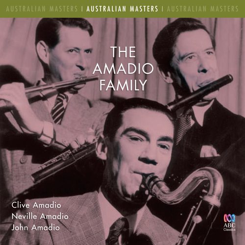CHAMINADE, C.: Flute Concertino, Op. 107 / HOLLAND, D.: Ballad for Clarinet and Piano / DEBUSSY, C.: Premiere rapsodie (The Amadio Family)