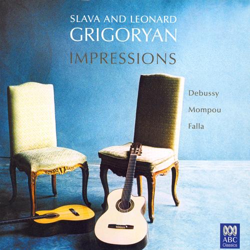 DEBUSSY: Suite bergamasque / FALLA: 4 Piezas espanolas / MOMPOU: Variaciones sobre un tema di Chopin (Impressions)