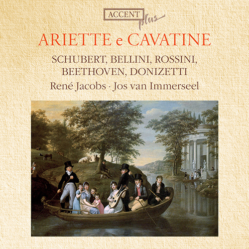 Vocal Recital: Jacobs, Rene - DONIZETTI, G. / BELLINI, V. / SCHUBERT, F. / ROSSINI, G. / BEETHOVEN, L. van (Ariette e Cavatine)