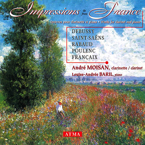 IMPRESSIONS FROM FRANCE - Works for clarinet and piano