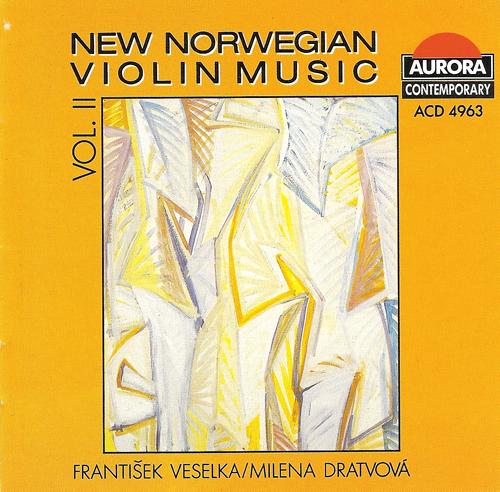 NEW NORWEGIAN VIOLIN MUSIC, Vol. 2 -BREVIK, T. / THOMMESSEN, O.A. / SOMMERFELDT, O. / HOVLAND, E. / BIBALO, A. (Veselka, Dratvova)