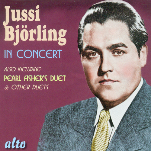 Vocal Recital: Bjorling, Jussi - BEETHOVEN, L. van / SCHUBERT, F. / STRAUSS, R. / BRAHMS, J. / MOZART, W.A. (Jussi Bjorling in Concert) (1937-1955)