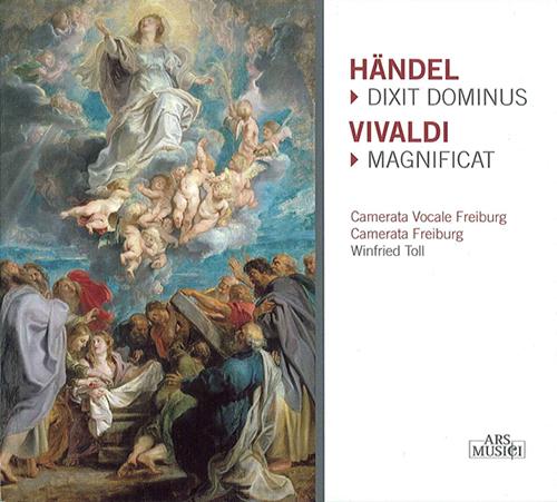 HANDEL, G.F.: Dixit Dominus / VIVALDI, A.: Magnificat (Toll)