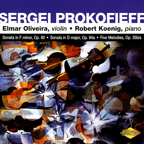 PROKOFIEF: Violin Sonata in F minor / Violin Sonata in D major / 5 Melodies