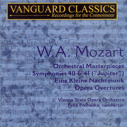 MOZART: Symphonies Nos. 40 and 41 / Opera Overtures / Eine kleine Nachtmusik