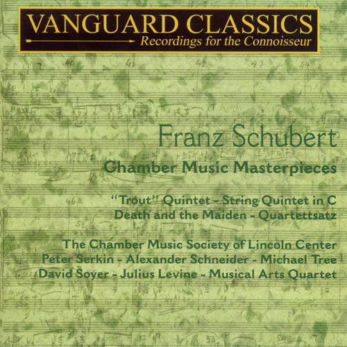 SCHUBERT: Trout Quintet / String Quintet in C major / String Quartet No. 14