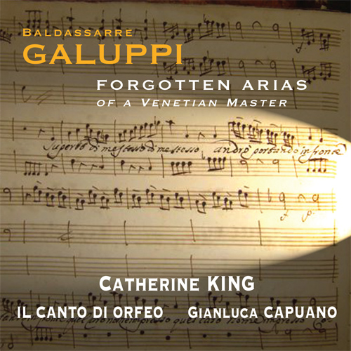 GALUPPI: Arias (Forgotten Arias of a Venetian Master)