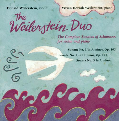 SCHUMANN, R.: Violin Sonatas (Complete) (Weilerstein Duo)