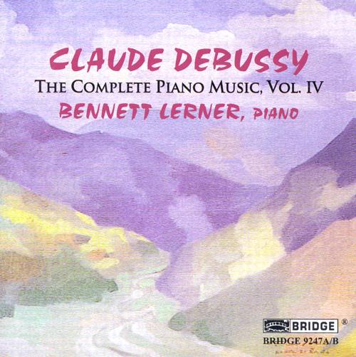 DEBUSSY: Piano Music (Complete), Vol. 4 - Estampes / Ballade / Nocturne / Mazurka / Valse romantique / La plainte, au loin, du faune (Lerner)