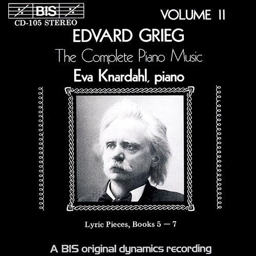 GRIEG: Complete Piano Music, Vol. 2