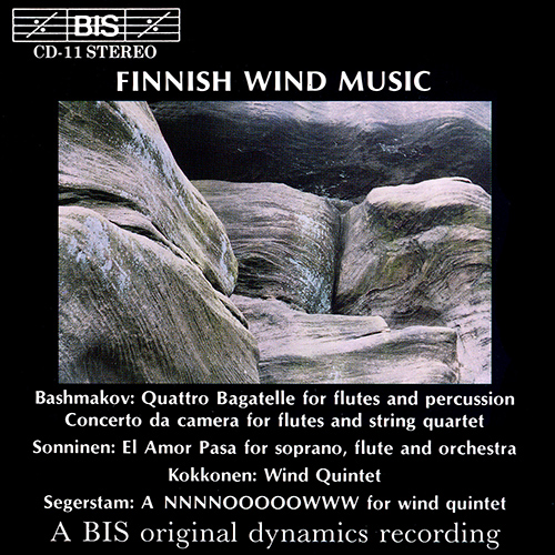 BASHMAKOV / SONNINEN / KOKKONEN / SEGERSTAM: Finnish Wind Music
