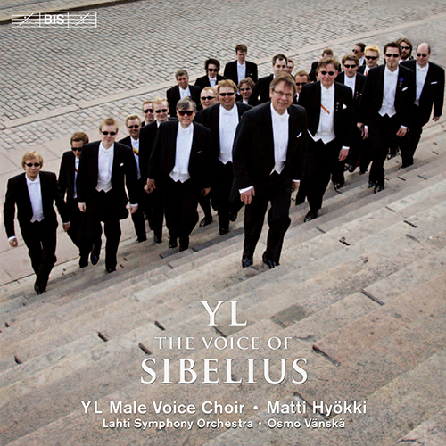SIBELIUS, J.: Partsongs / Vapautettu kuningatar / Rakastava / Laulu Lemminkaiselle (YL Male Voice Choir) (YL - The Voice of Sibelius)