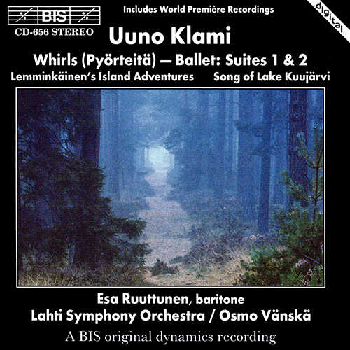 KLAMI: Whirls / Song of Lake Kuujarvi