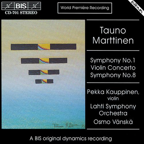 MARTTINEN: Symphony No. 1 / Symphony No. 8 /  Concerto Op. 13
