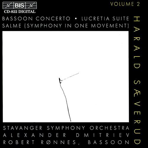 SAEVERUD: Bassoon Concerto