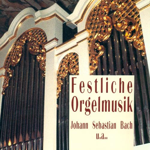 Organ Music - BACH, J.S. / FRANCK, C. / KREBS, J.L.