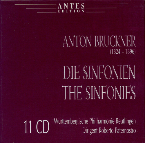 BRUCKNER, A.: Symphonies Nos. 0-9 / Te Deum (Wurttembergische Philharmonie Reutlingen, Paternostro)
