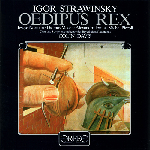 STRAVINSKY, I.: Oedipus Rex [Opera-Oratorio]