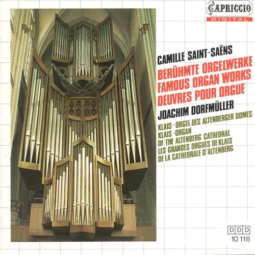 SAINT-SAENS, C.: Organ Music (Dorfmuller)
