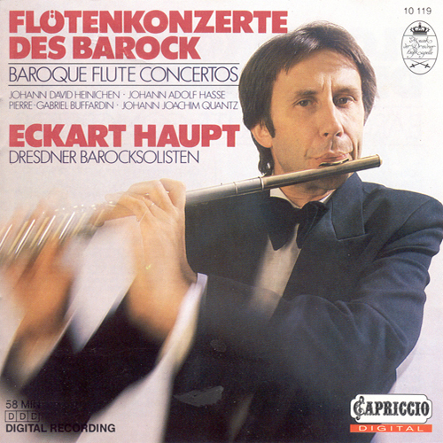 Flute Concertos (Baroque) – QUANTZ. J.J. / HEINICHEN, J.D. / BUFFARDIN, P.-G. / HASSE, J.A. (Haupt)