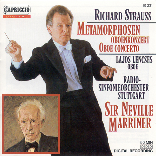 STRAUSS, R.: Oboe Concerto / Metamorphosen (Lencses, Stuttgart Radio Symphony, Marriner)