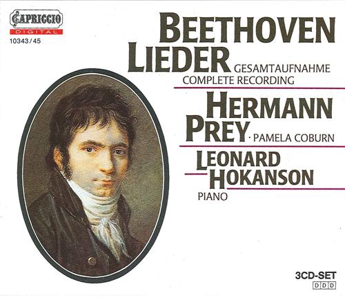 BEETHOVEN, L. van: Lieder (Coburn, Prey)